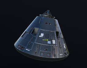 3D model Apollo Command Module