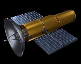 Satellite area 3D model