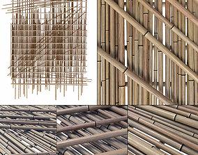 3D model Bamboo branch decor n20