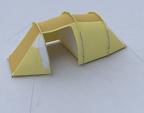 travel Tent 3d model game-ready