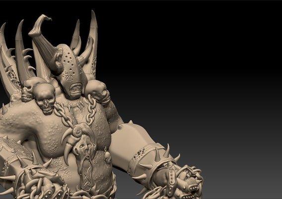 Champion of Nurgle Figurine
