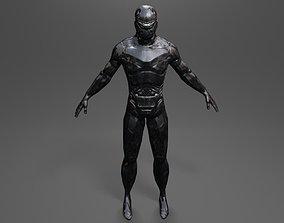 3D model Space wanderer 2