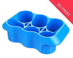 3D print model Crate Unity 02 for 6 Cans 350ml