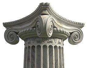 Ionic Column roman 3D model