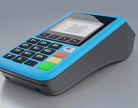 pos POS payment terminal 3D