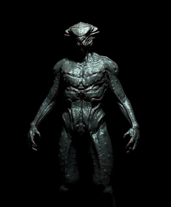 Alien sketch 1