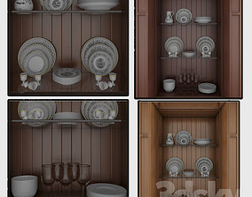 Buffet 3D model game-ready