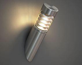 3D model Modern Wall Lamp Light At Angle