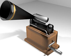 Phonograph - Type 3 3D model