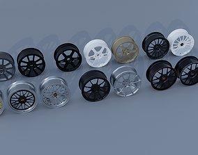 momo Wheel Pack 3D model