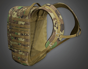 3D model Military Backpack 09 - MLT - PBR Game Ready