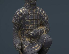 3D model Terracotta Warriors Archer