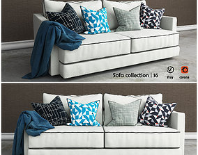 Tribeca 2 sofa 3D