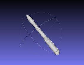 Arianespace ASI ESA Vega Rocket Printable Miniature