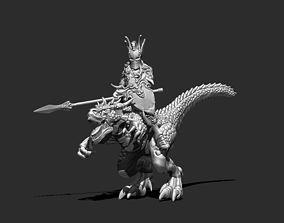 Knight Rider 3D print model - Tarasque Knight 35mm