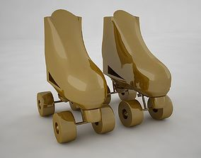 3D model realtime Roller Skate
