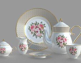 3D PBR TEA SET