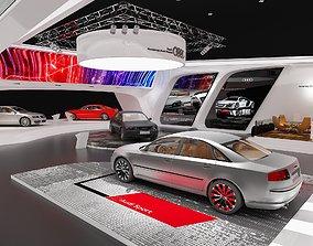 Exhibition Audi 3D model