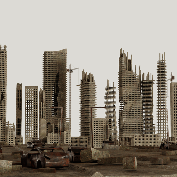 Post ApocalypticSkyscrapers