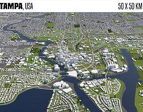3D model Tampa