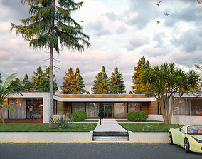 SCENE LUMION9 HOUSE IN NATURE BY YOGA4ARCH 3D