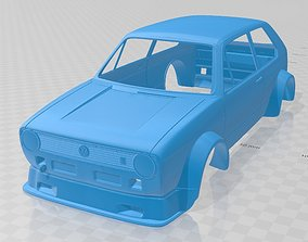Volkswagen Golf MK1 Race Cup Printable Body Car