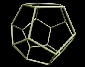 056 Dodecahedron 20 cm dE-6mm 3D print model