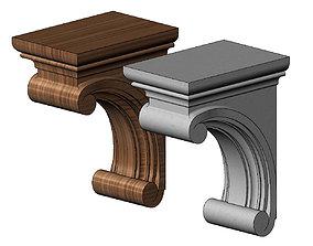 3D printable model Simple Madeline Corbel