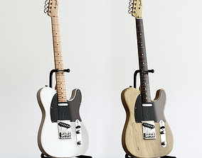 3D Electric Guitar Fender Telecaster