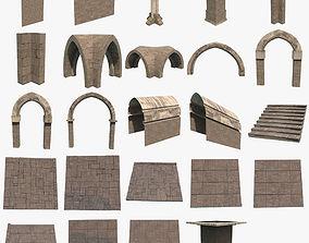 Modular Dungeon 3D model
