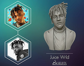 Juice wrld 3D sculpture Ready to 3D print