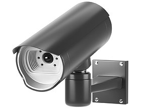 Security Camera 3D asset VR / AR ready