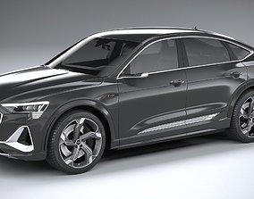 Audi e-tron S sportback 2021 3D