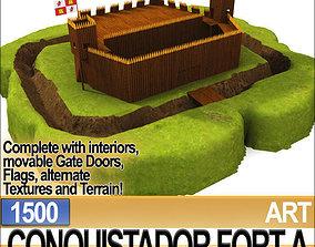 Conquistador Fort A 1500 3D
