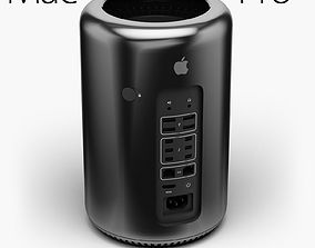 Apple Mac Pro 2013 3D asset