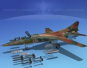 Mig-27 Flogger V09 Russia 3D