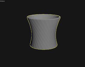 3D Printed Planter Plant Pot Plant Vase 014