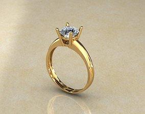 Engagement 3D printable model engagement-ring
