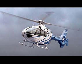 3D EC 135 Private Blue