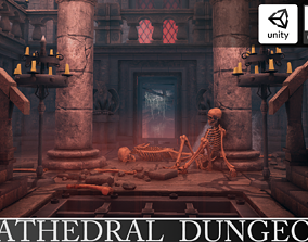 3D model Underground Cathedral