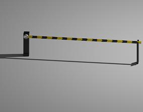 3D asset Automatic Traffic Barrier