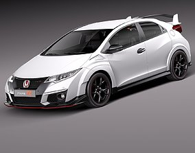 Honda Civic Type R 2016 3D