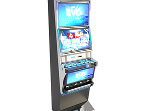 3D model Slot Machine Apex 24