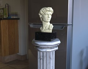 Bust of David Michelangelo 3D