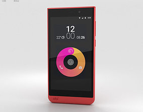 Obi Worldphone SJ1-5 Red 3D model