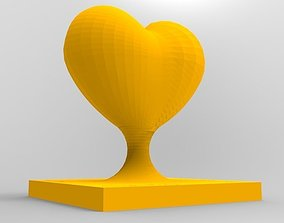 Heart Trophy 3D print model