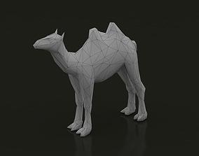 Camel Low Poly 3D model