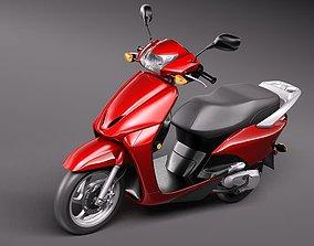 Honda Elite 2010 3D