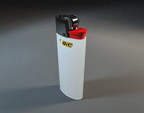 Bic Lighter 3D model