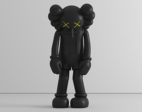 3D printable model Small lie - by Kaws - figure - preset -